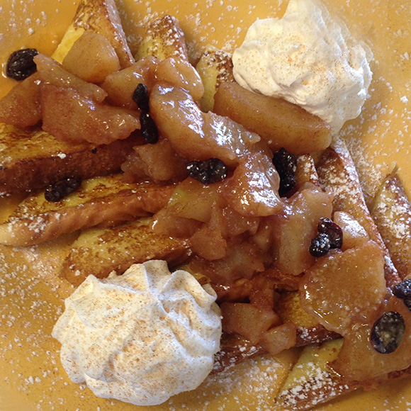 Apple Crisp French Toast