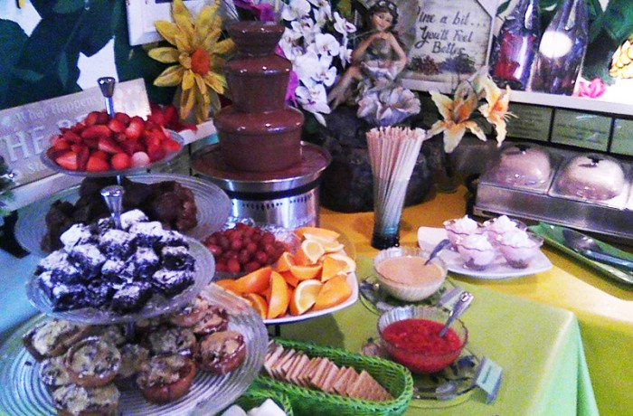Sweet Sage Brunch Buffet